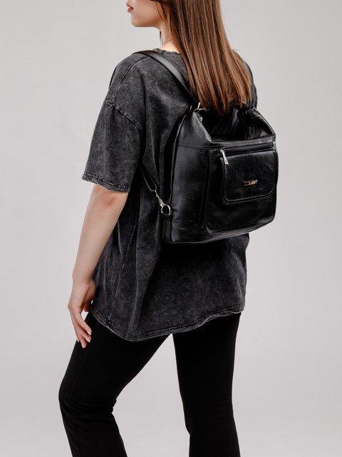 Чёрная сумка мешок S.Lavia (Славия) - артикул: 980 601 01 - ракурс 8