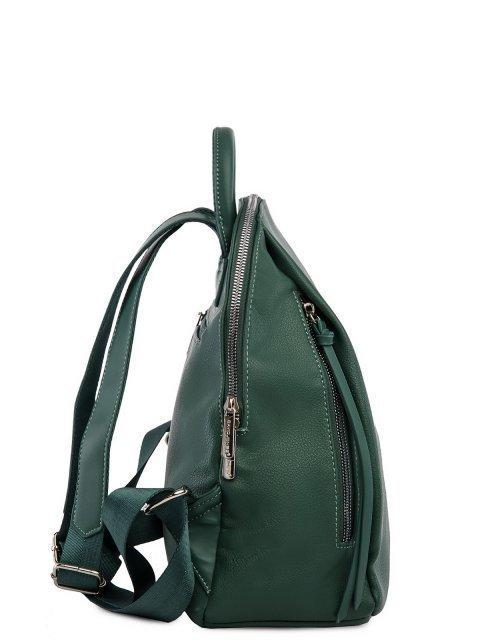 Зелёный рюкзак David Jones (Дэвид Джонс) - артикул: 0К-00026219 - ракурс 2