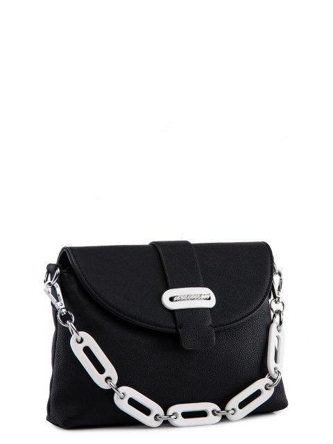 Чёрная сумка планшет Fabbiano (Фаббиано) - артикул: 0К-00023729 - ракурс 1