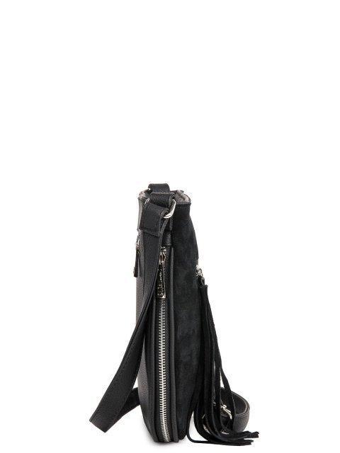 Чёрная сумка планшет S.Lavia (Славия) - артикул: 709 99 01 - ракурс 2
