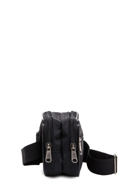 Чёрная сумка на пояс S.Lavia (Славия) - артикул: 0К-00013334 - ракурс 2