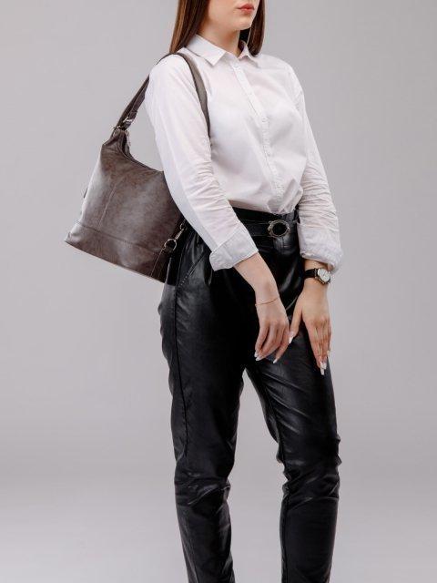 Чёрная сумка мешок S.Lavia (Славия) - артикул: 869 601 01 - ракурс 6