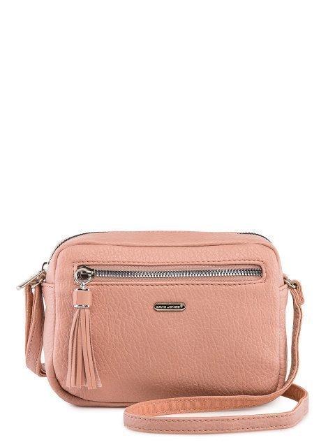 Розовая сумка планшет David Jones - 1699.00 руб