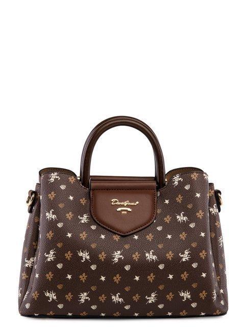 Коричневая сумка классическая David Jones - 2899.00 руб