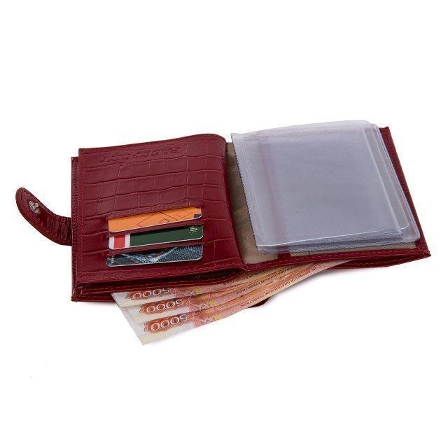 Красная обложка для документов S.Lavia (Славия) - артикул: К0000016348 - ракурс 5