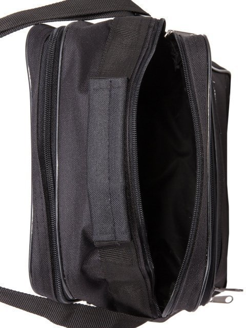 Чёрная сумка планшет S.Lavia (Славия) - артикул: 0К-00005234 - ракурс 4