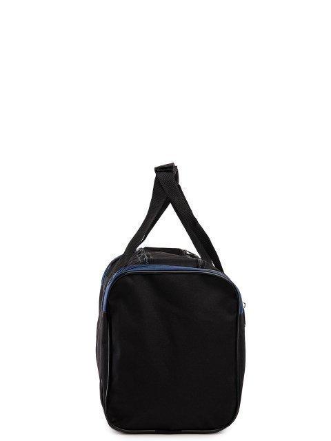 Синяя дорожная сумка Lbags (Эльбэгс) - артикул: 0К-00027784 - ракурс 2