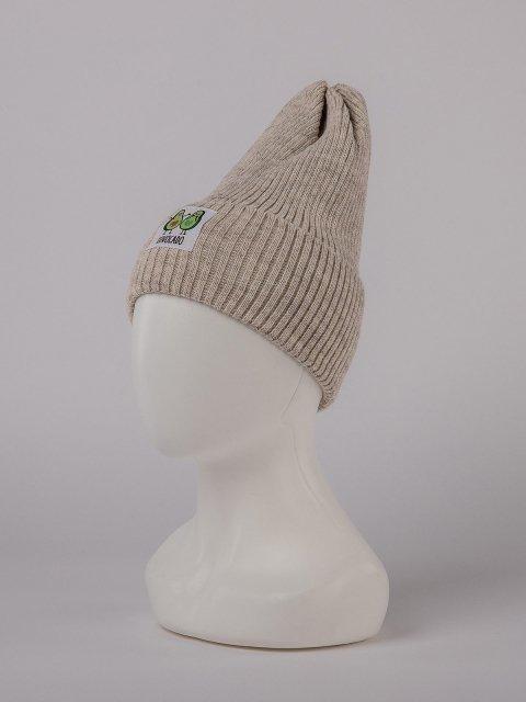 Бежевая шапка Fashion Style - 699.00 руб