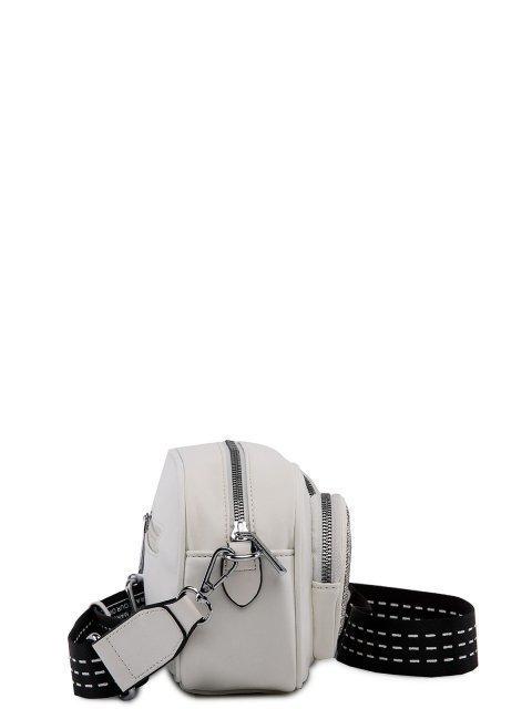 Белая сумка планшет Fabbiano (Фаббиано) - артикул: 0К-00023509 - ракурс 2