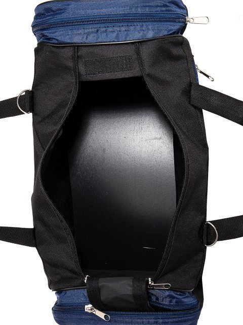 Синяя дорожная сумка Lbags (Эльбэгс) - артикул: 0К-00027784 - ракурс 4