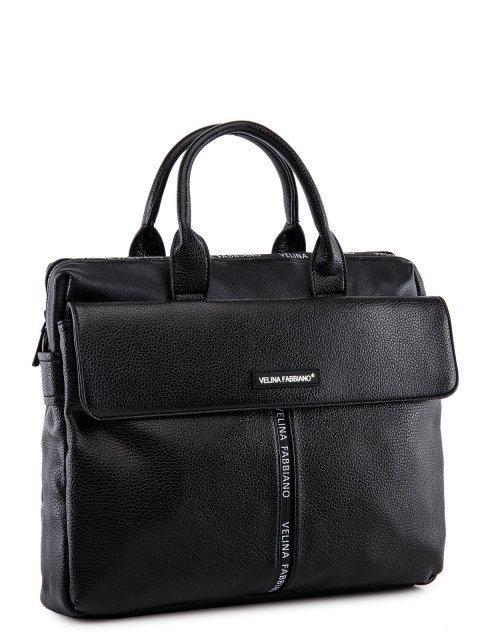 Чёрная сумка классическая Fabbiano (Фаббиано) - артикул: 0К-00023742 - ракурс 1