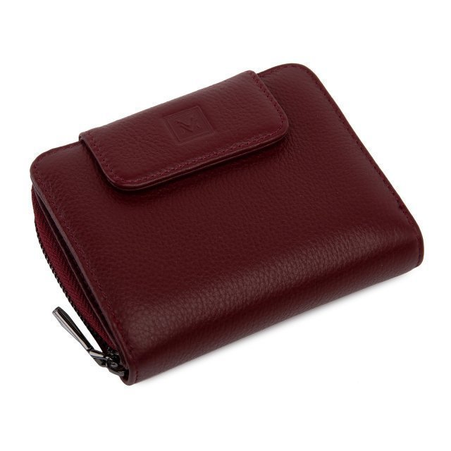 Бордовое портмоне S.Style - 2590.00 руб