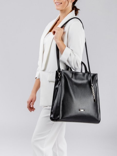 Чёрная сумка классическая S.Lavia (Славия) - артикул: 1077 902 01 - ракурс 1
