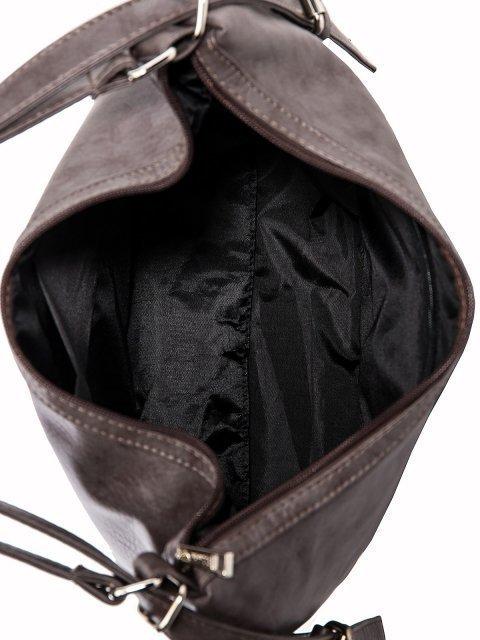 Коричневая сумка мешок S.Lavia (Славия) - артикул: 869 601 12 - ракурс 5