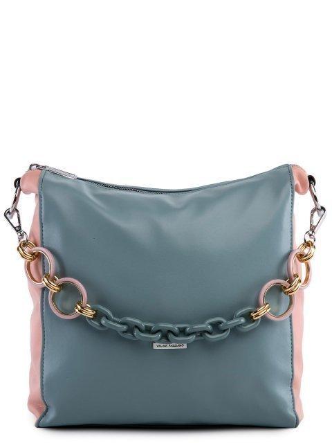 Голубая сумка мешок Fabbiano - 3599.00 руб