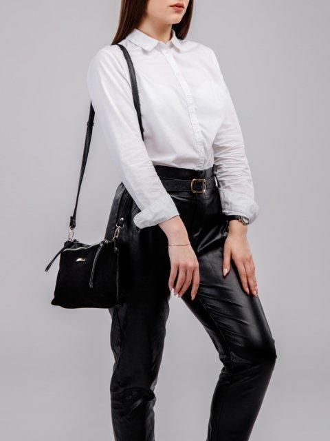 Чёрная сумка планшет S.Lavia (Славия) - артикул: 798 99 01 - ракурс 5