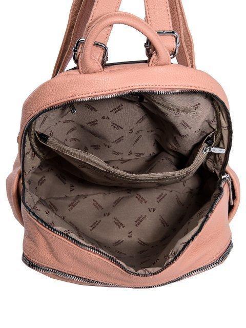 Розовый рюкзак Fabbiano (Фаббиано) - артикул: 0К-00023514 - ракурс 4