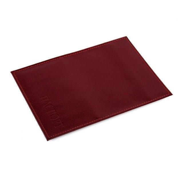 Красная обложка для документов Кайман - 399.00 руб
