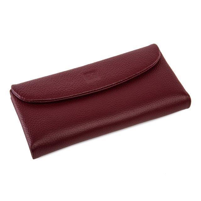Бордовое портмоне S.Style - 3300.00 руб