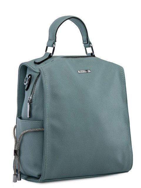 Мятный рюкзак Fabbiano (Фаббиано) - артикул: 0К-00023737 - ракурс 1