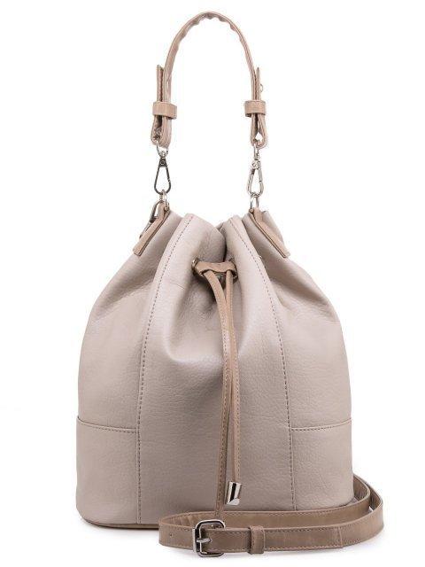 Бежевая сумка мешок S.Lavia - 1567.00 руб