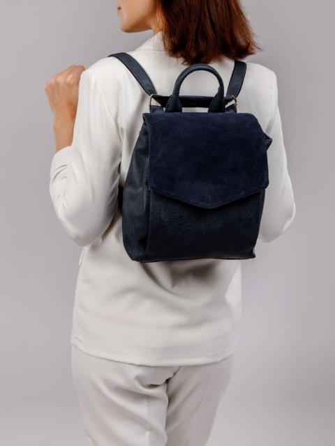 Синий рюкзак S.Lavia (Славия) - артикул: 1161 99 70 - ракурс 6