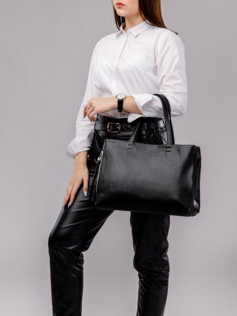 Чёрный шоппер S.Lavia (Славия) - артикул: 886 902 01 - ракурс 5