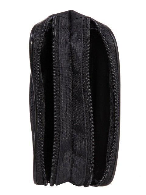 Чёрная сумка на пояс S.Lavia (Славия) - артикул: 0К-00013334 - ракурс 4