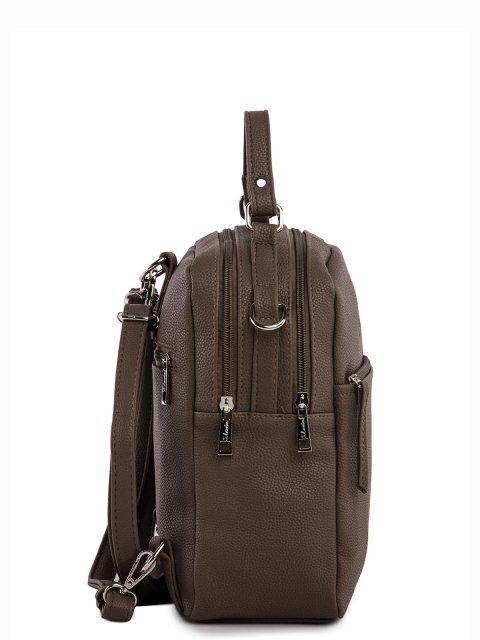 Коричневый рюкзак S.Lavia (Славия) - артикул: 1183 791 52  - ракурс 2