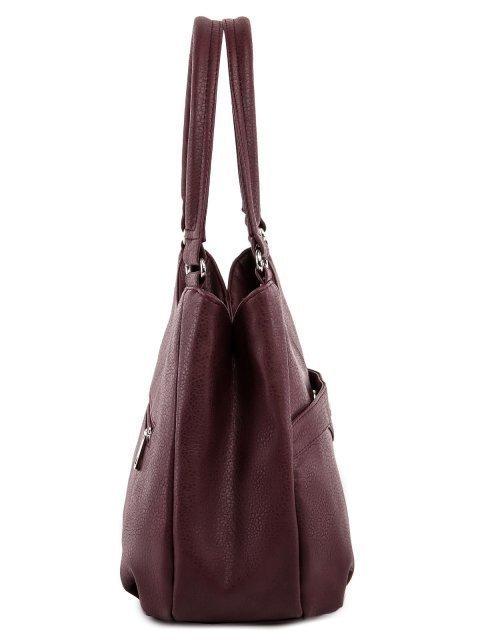 Бордовая сумка классическая S.Lavia (Славия) - артикул: 1176 860 03 - ракурс 2