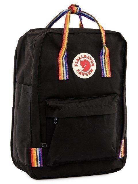 Чёрный рюкзак Kanken (Kanken) - артикул: 0К-00028805 - ракурс 1