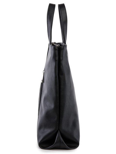 Чёрная сумка классическая S.Lavia (Славия) - артикул: 1217 323 01 - ракурс 2