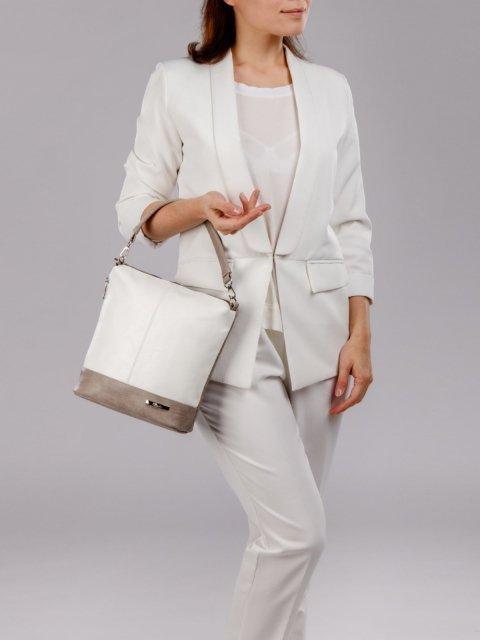 Белая сумка планшет S.Lavia (Славия) - артикул: 251 512 54 - ракурс 4