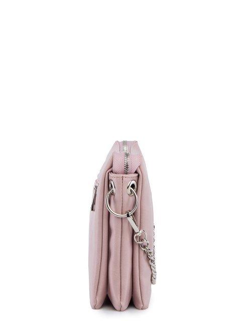 Розовая сумка планшет S.Lavia (Славия) - артикул: 1232 910 41 - ракурс 2