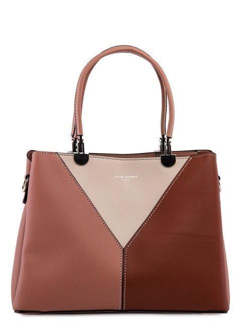 Розовая сумка классическая David Jones - 3299.00 руб