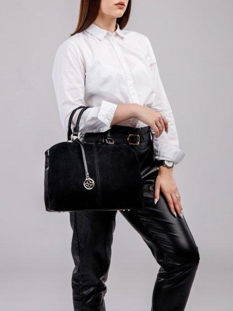 Чёрная сумка классическая S.Lavia (Славия) - артикул: 970 99 01 - ракурс 5