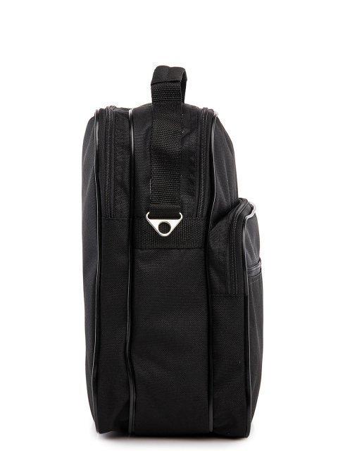 Чёрная сумка планшет S.Lavia (Славия) - артикул: 00-21 000 01/1 - ракурс 2