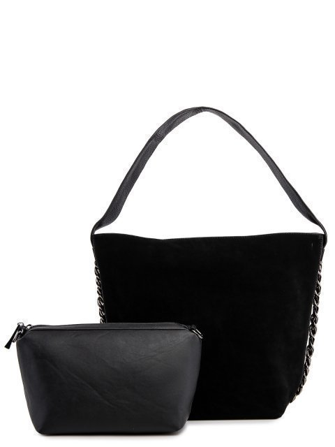 Чёрная сумка мешок Valensiy - 4339.00 руб