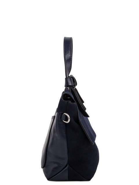Синий портфель Angelo Bianco (Анджело Бьянко) - артикул: 0К-00018431 - ракурс 2