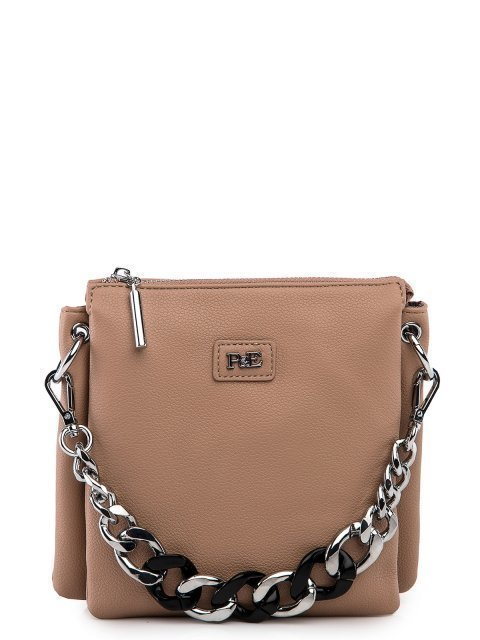 Бежевая сумка планшет Polina - 3199.00 руб