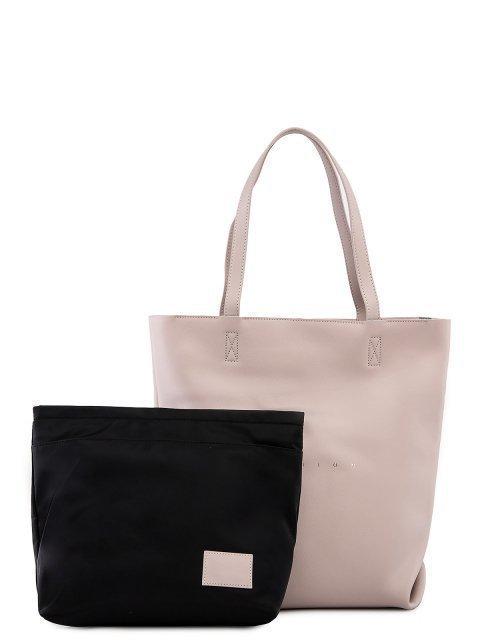 Серый шоппер Polina - 6277.00 руб