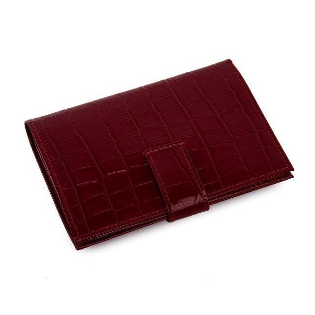Красная обложка для документов S.Lavia (Славия) - артикул: К0000016348 - ракурс 1