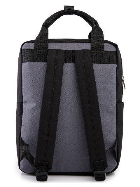 Чёрный рюкзак S.Lavia (Славия) - артикул: 00-72 000 01 - ракурс 3