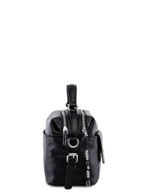 Чёрный саквояж Fabbiano (Фаббиано) - артикул: 0К-00023556 - ракурс 2