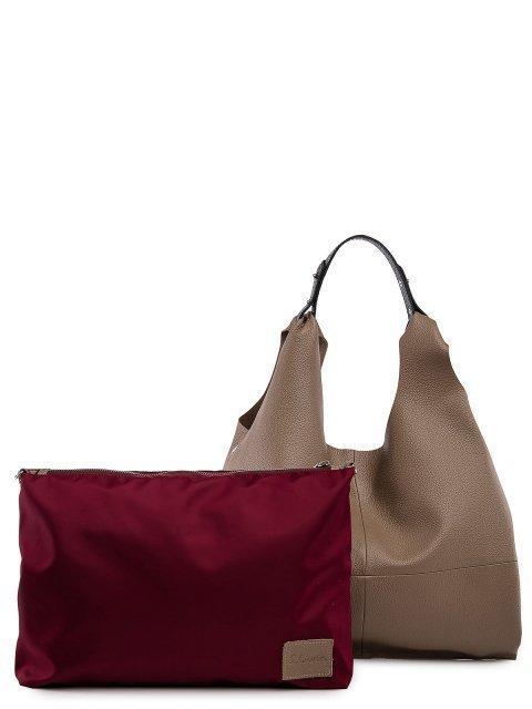 Бежевая сумка мешок S.Lavia (Славия) - артикул: 0091 12 25  - ракурс 4