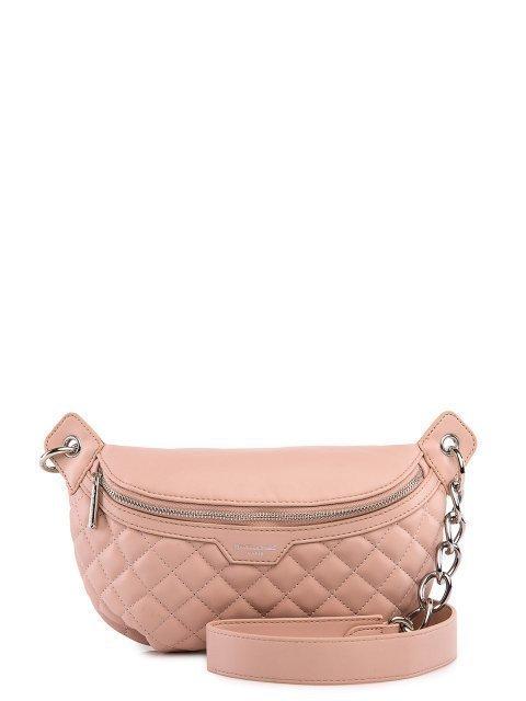 Розовая сумка на пояс David Jones - 1899.00 руб