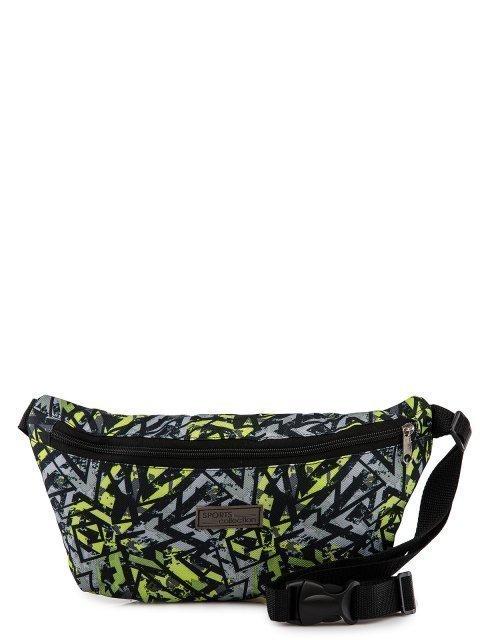 Зелёная сумка на пояс Lbags - 429.00 руб