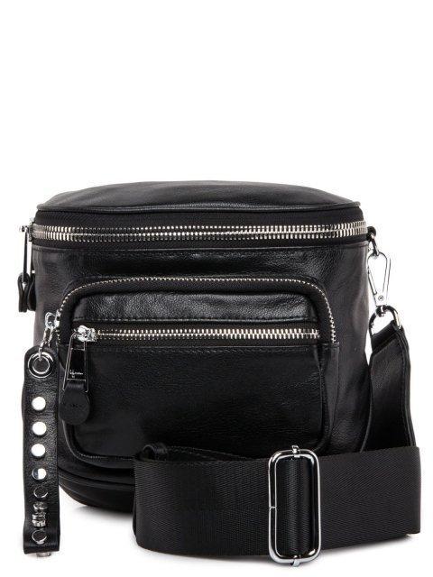 Чёрная сумка планшет Polina - 5308.00 руб