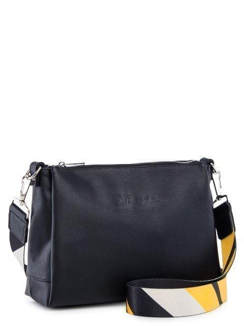 Чёрная сумка планшет S.Lavia (Славия) - артикул: 1175 910 01.63 - ракурс 1