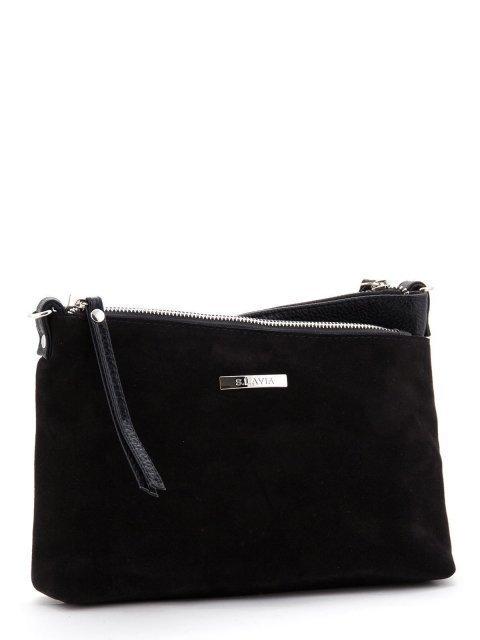 Чёрная сумка планшет S.Lavia (Славия) - артикул: 798 99 01 - ракурс 1